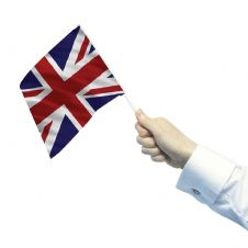 Union Jack Waving Flags